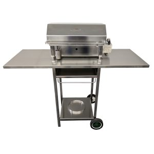 Australian made Stainless BBQ Trolley