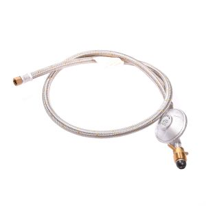 BBQ Regulator & Braided Hose Assembly 1.2mt