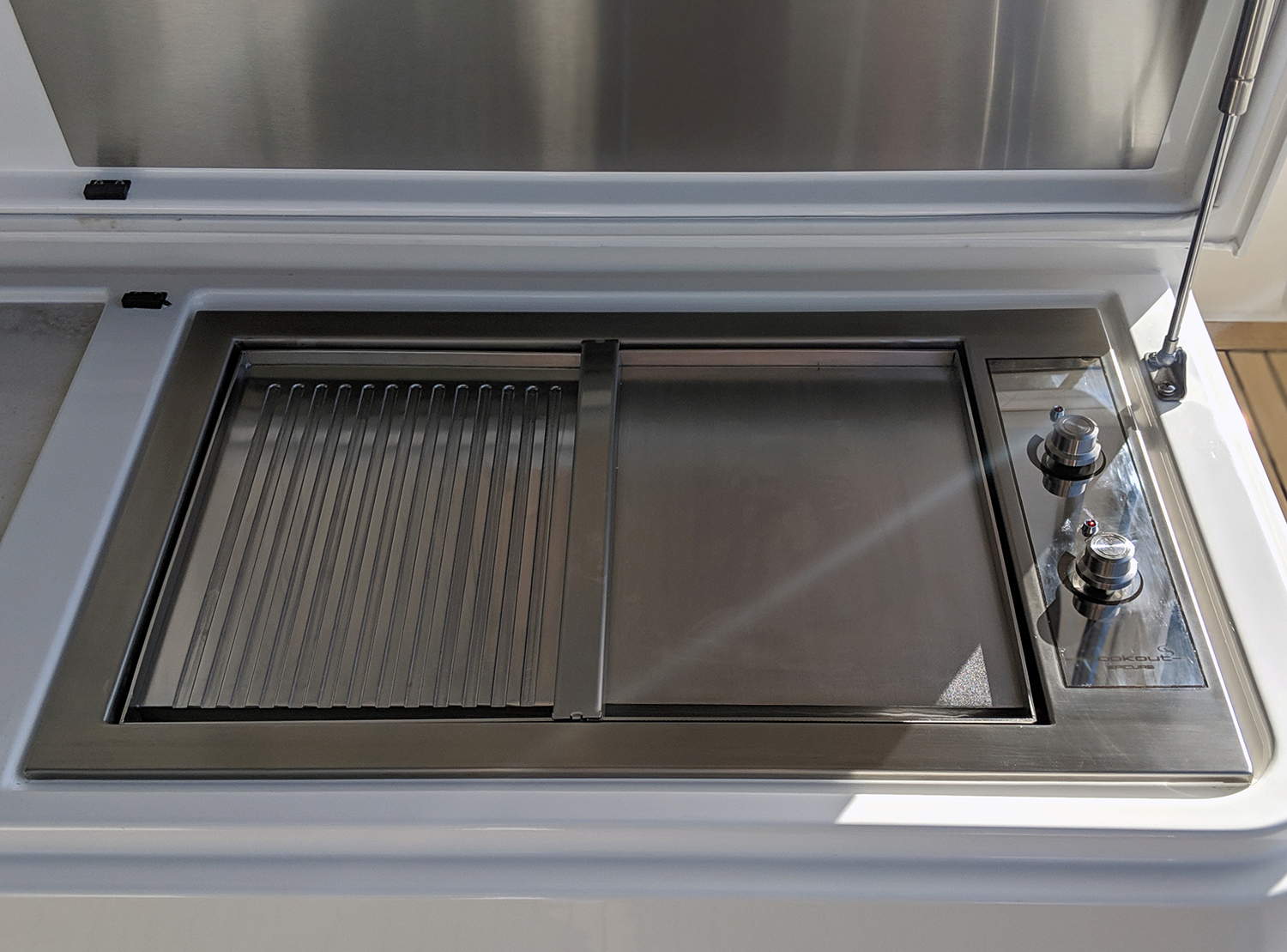 Epicure Stainless Steel built in Boat BBQ