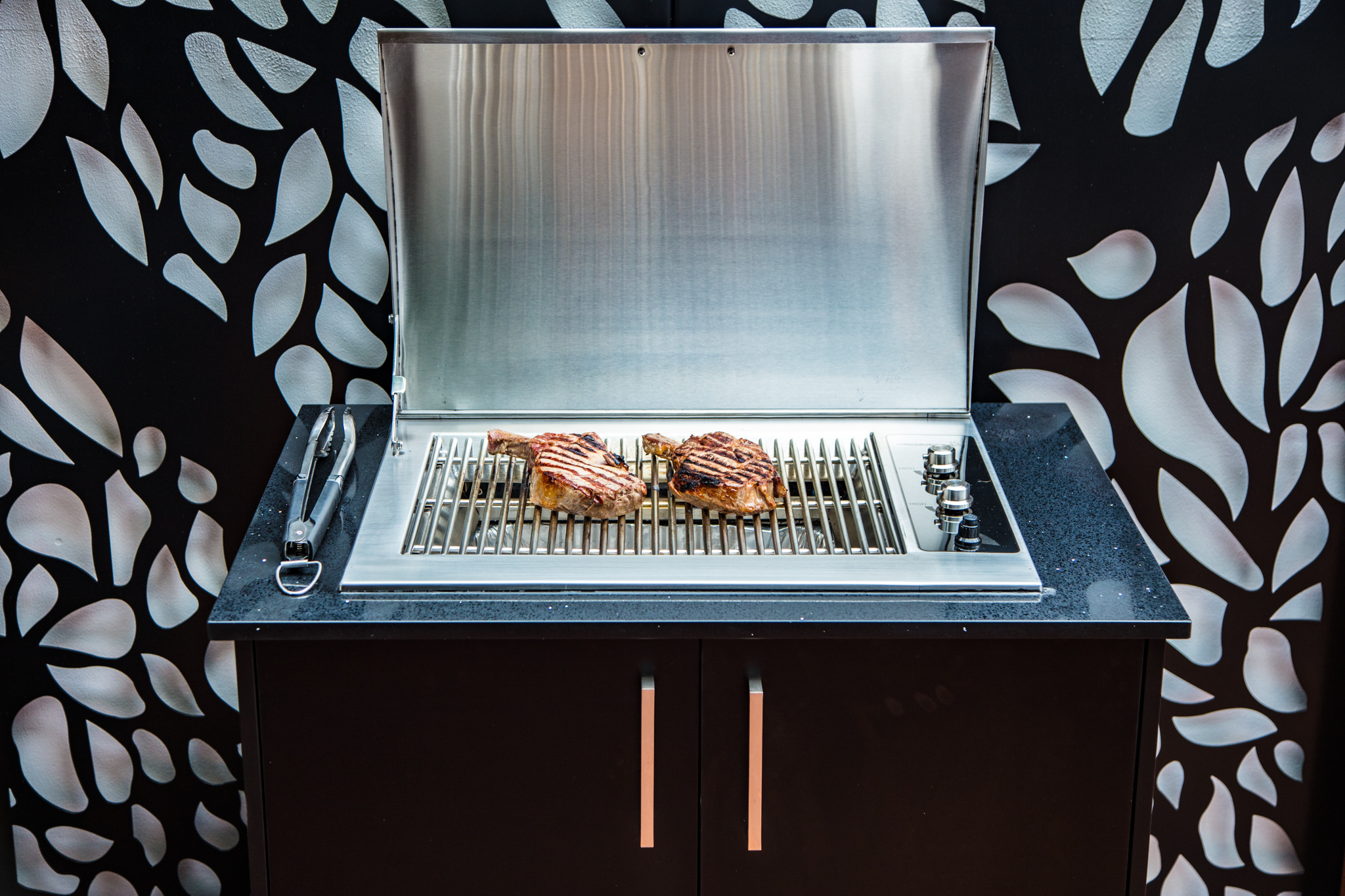 316 marine grade stainless steel Infinity Grill BBQ