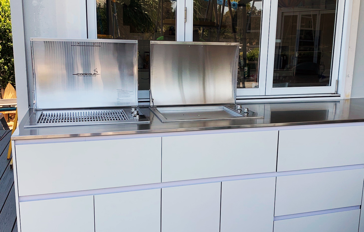 Stainless drop in bbq Australia