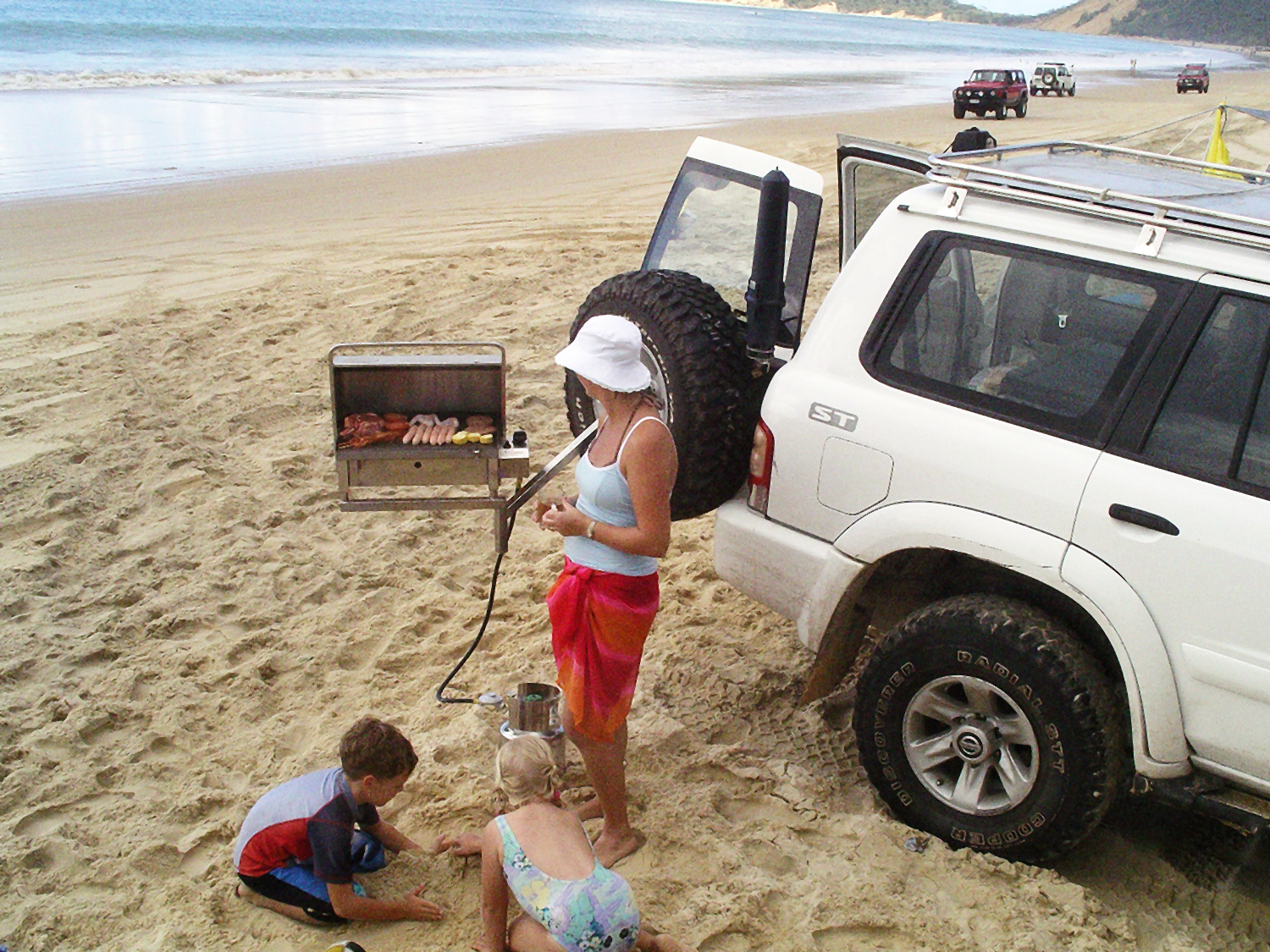 Portable go anywhere BBQ 4WD camping Australia