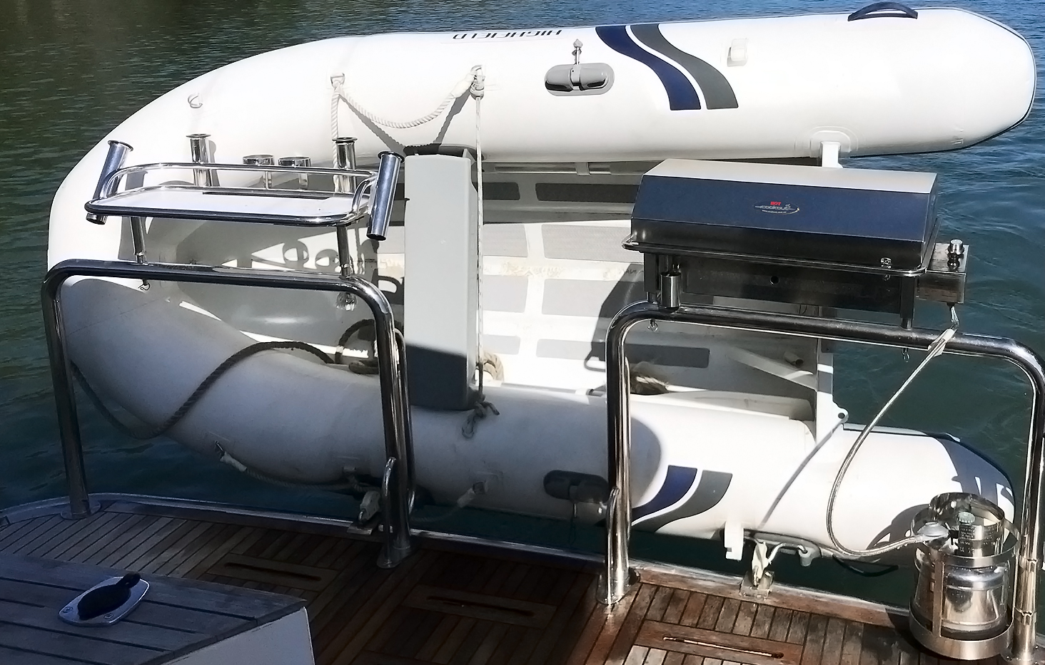 Gas stainless steel boat BBQ Australia