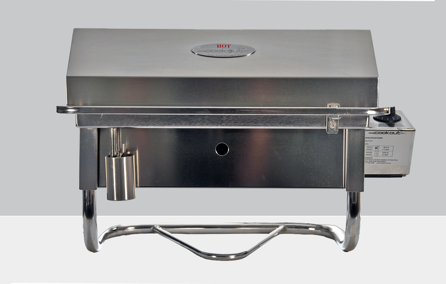portable bbq table stand