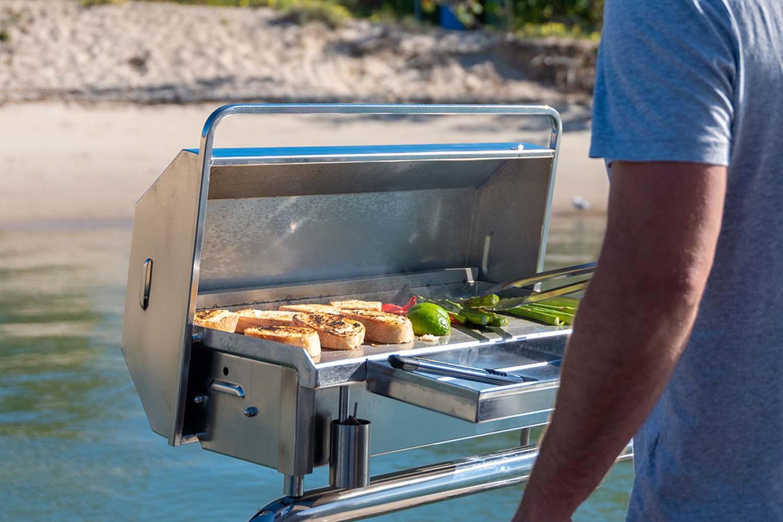 Portable flat plate gas BBQ Australia